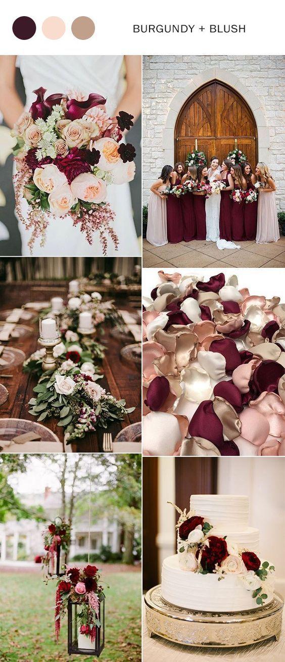 burgundypinterest 1 - Trend We Love: Burgundy Bridesmaid Dresses